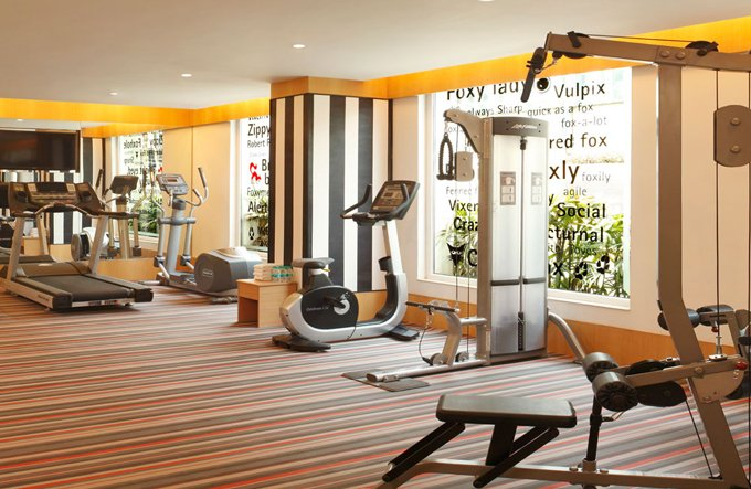 Fitness Center at Red Fox Hotel Delhi Airport