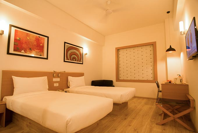 Standard Room at Red Fox Hotel Gurugram