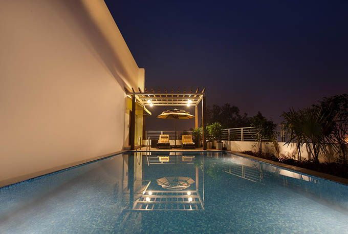 Swimming Pool at Chandigarh Lemon Tree