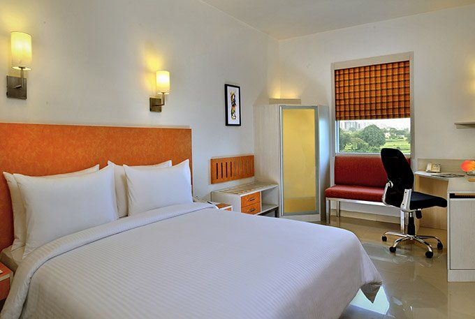 Deluxe Room at Red Fox Hotel Bhiwadi