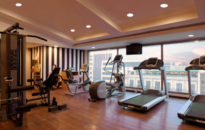Fitness Center at Lemon Tree Whitefield Bangalore