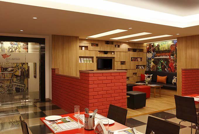 Multi Cuisine Restaurant at Red Fox Hotel HITEC City