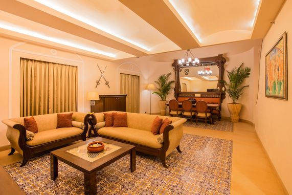 Heritage Suite Living Room of Lemon Tree Goa