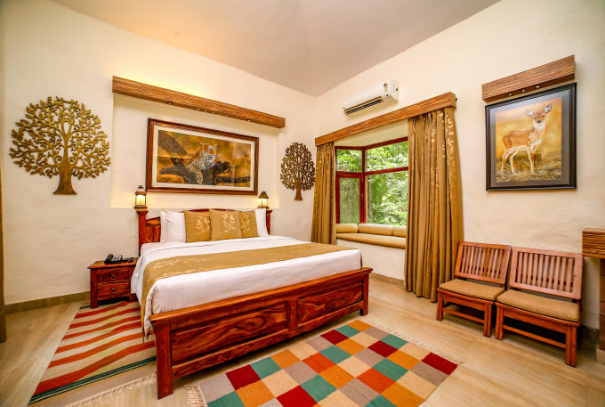 Hotel Green Lemon Resort In Bandhavgarh National Park Lemon Tree Wildlife Resort
