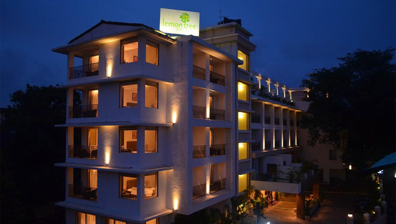 Facade Of Lemon Tree Hotel Candolim Goa