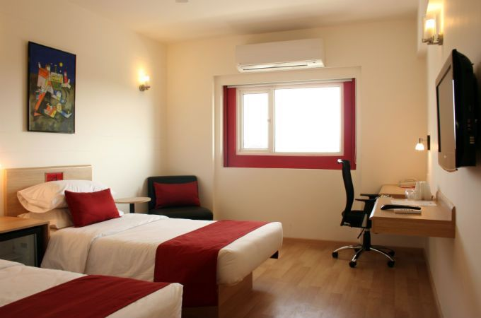 Standard Room At Red Fox Mayur Vihar Delhi