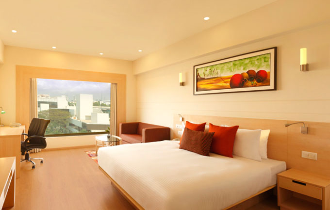 Deluxe Room at Hotel in Bangalore Whitefield