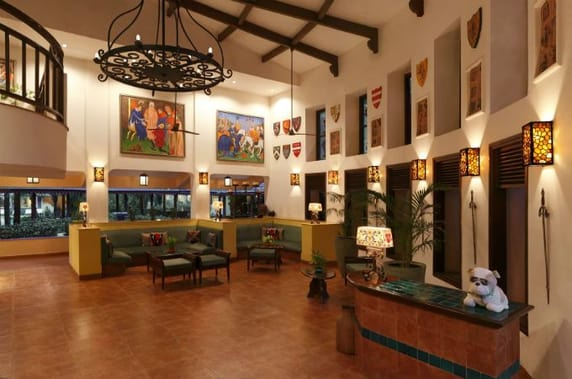 Lobby at Lemon Tree Goa