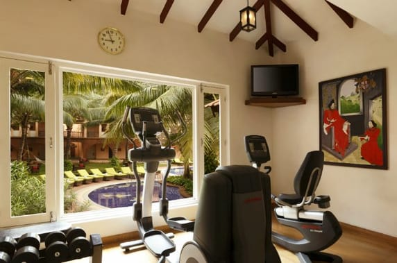 Gym at Lemon Tree Goa