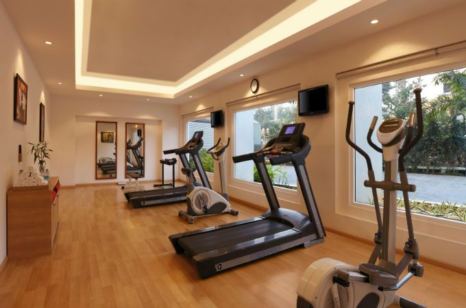Gym at Red Fox Hyderabad