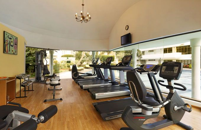 Fitness Center at Lemon Tree Aurangabad