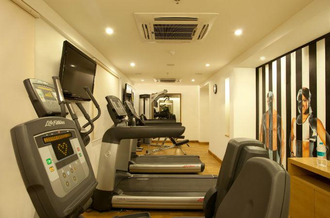 Life Fitness Gym at Lemon Tree Chandigarh