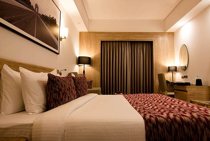 Deluxe Room at Lemon Tree Permier City Center Gurgaon
