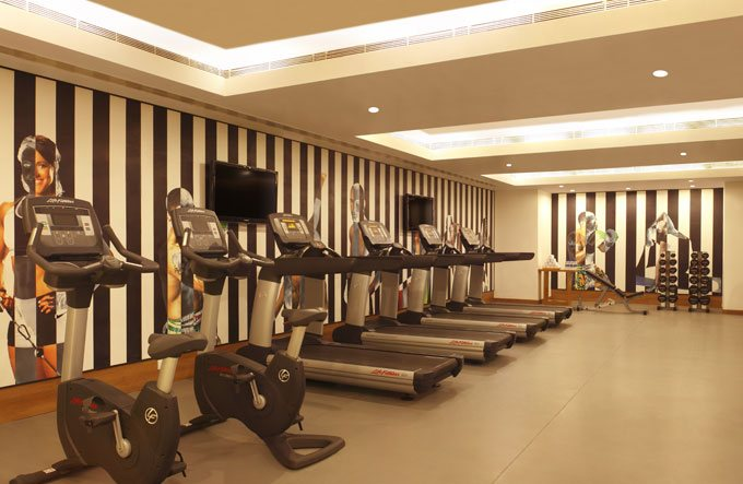 Gym at Lemon Tree Premier HITEC city