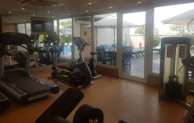 Fitness Center at Lemon Tree Permier City Center Gurgaon