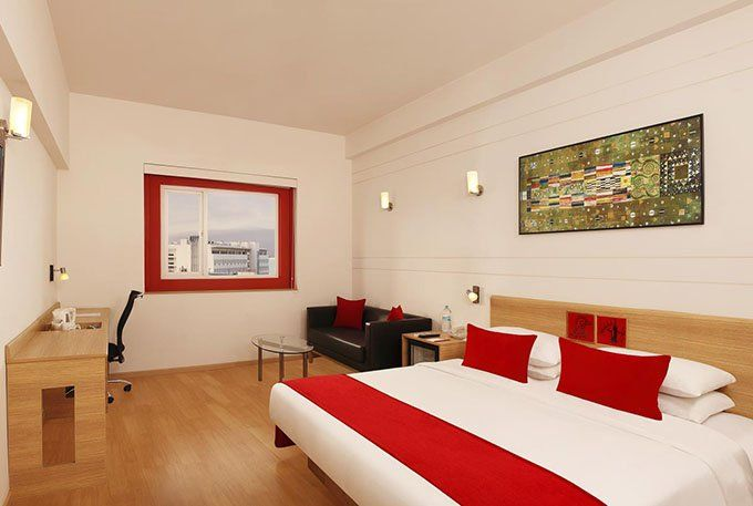 Superior Room of Red Fox Hotel Hyderabad