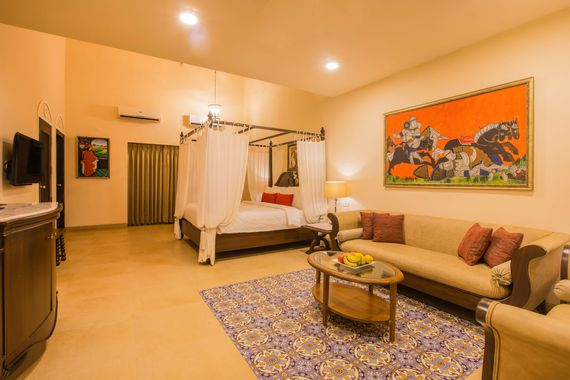 Heritage Studio Room at Lemon Tree Resort Goa